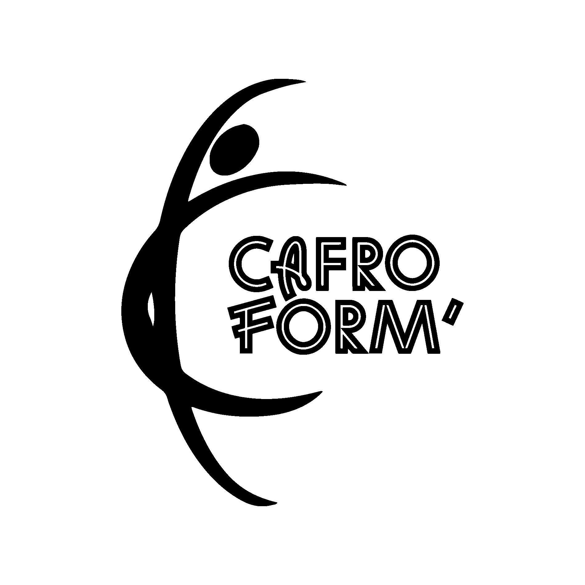 LOGO NOIR CAFROFORM´ KIDS  - MARSEILLE BORDEAUX FITNESS